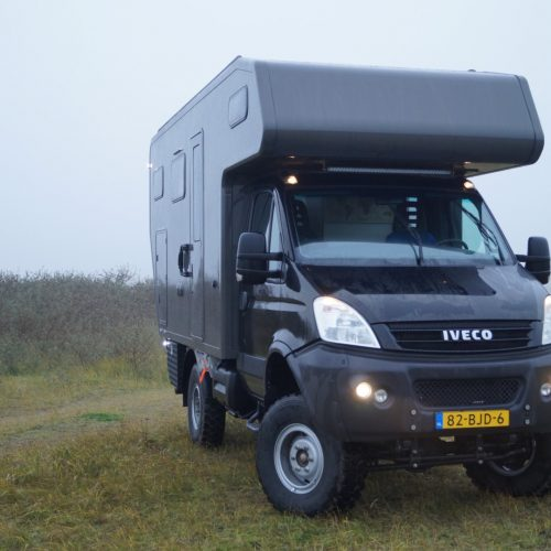 Voorkant Iveco Daily 4x4